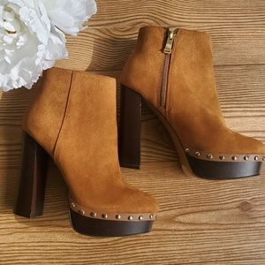 """Report """"Minter"""" Suede Studded Boots"""